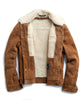Dylan Shearling Jacket in Nutmeg Alternate Image