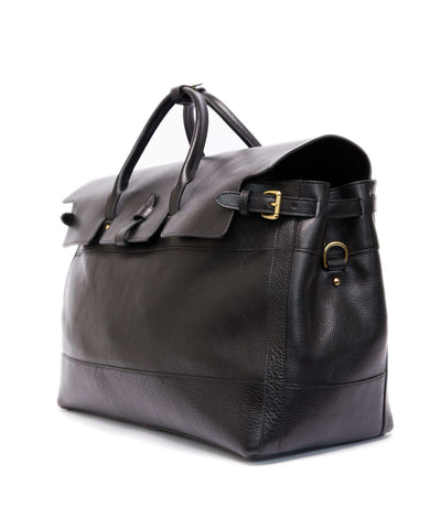 Exclusive Lotuff Leather + Todd Snyder Satchel in Black