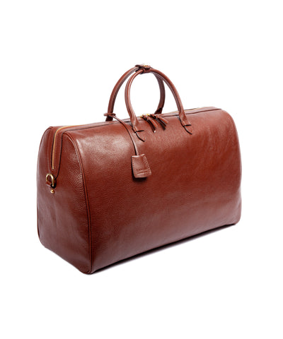 Lotuff Leather No. 12 Weekender in Chestnut