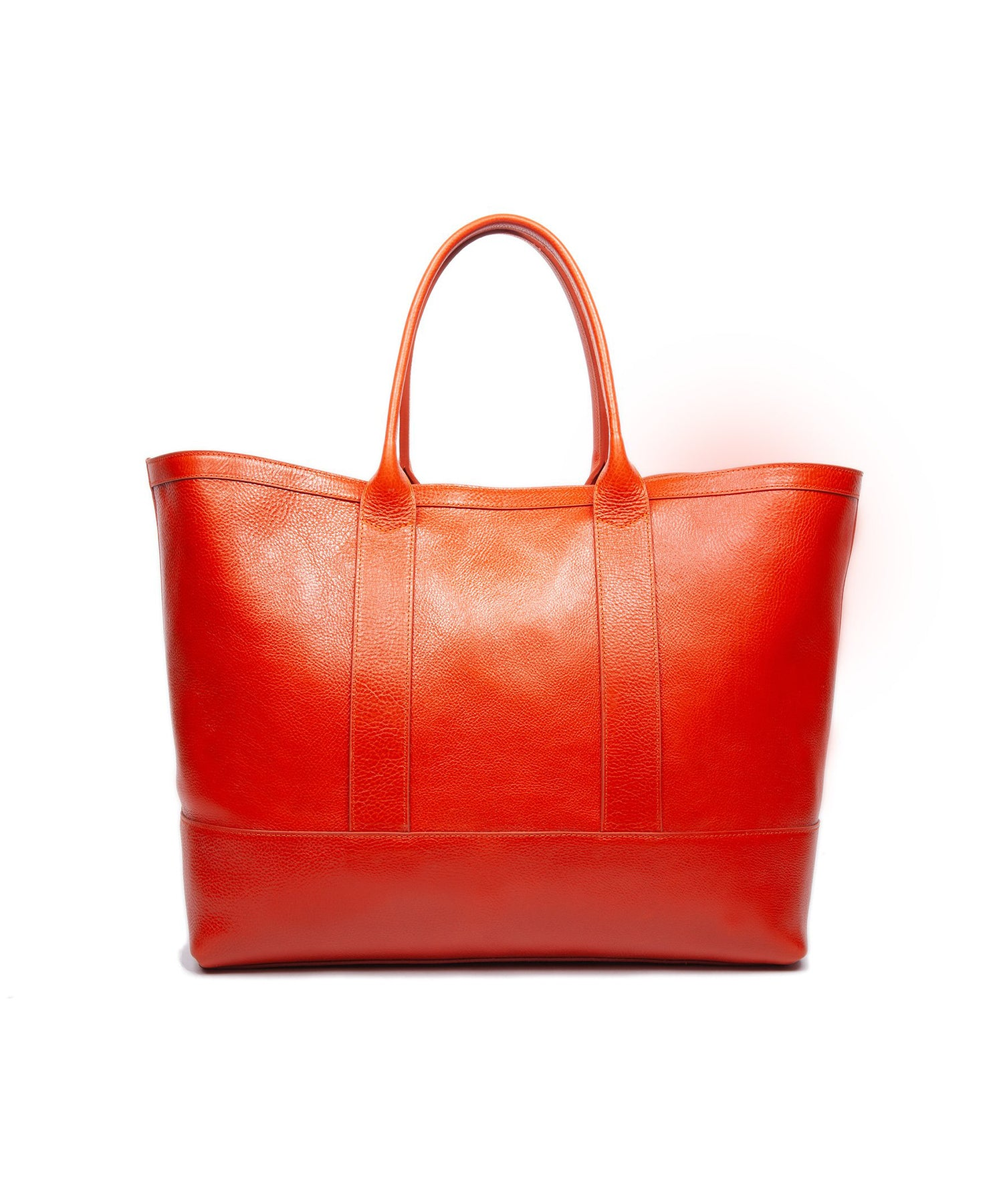 Lotuff Leather Working Tote II in Orange