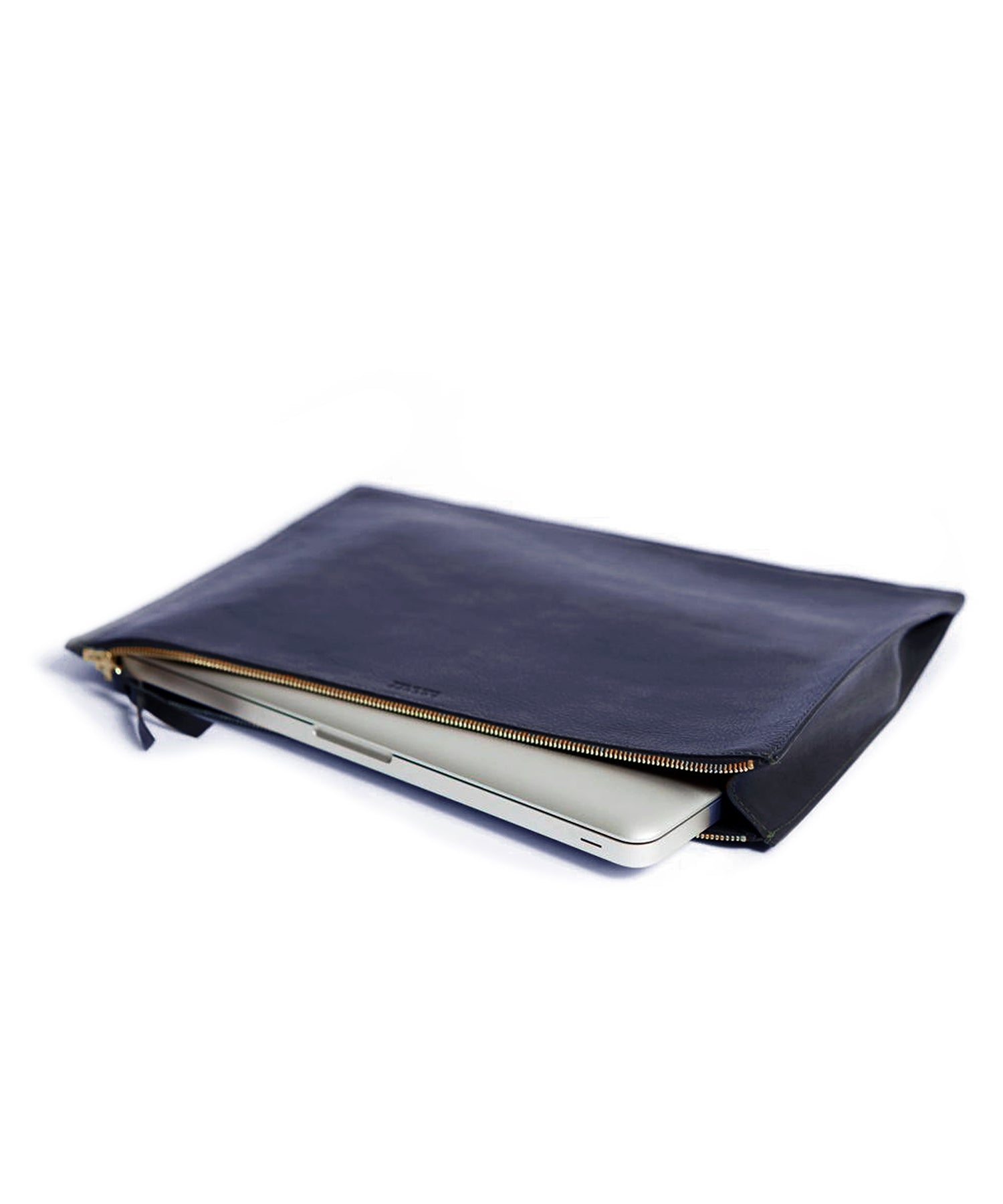 Lotuff Zipper Document Pouch in Indigo