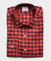 Made in USA Hamilton + Todd Snyder Brushed Twill Lumberjack Plaid Dress Shirt