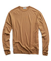 John Smedley Easy Fit Crew in Camel