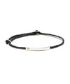 Scosha Signature ID Slider Bracelet in Black