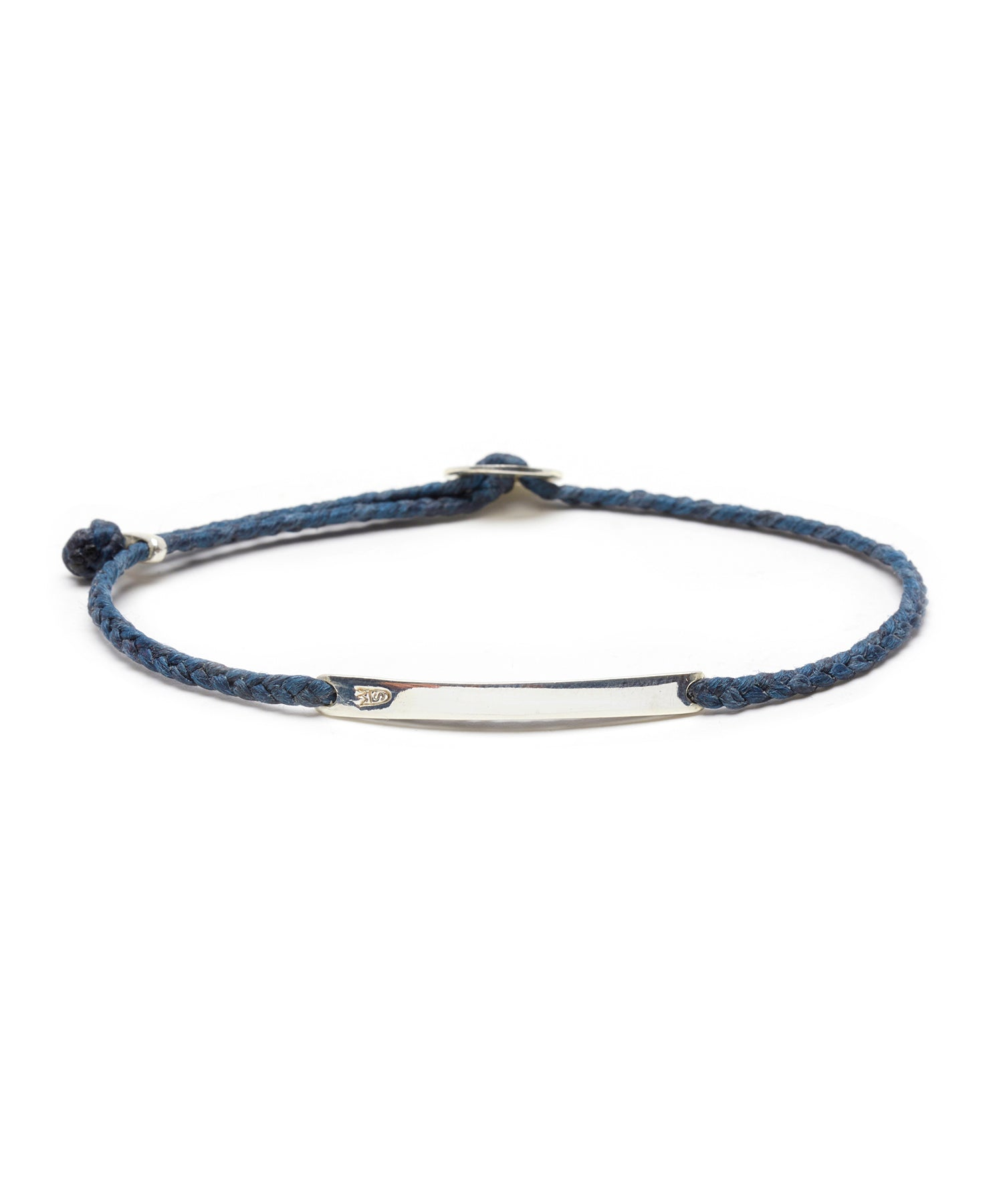 Scosha Signature ID Slider Bracelet in Denim