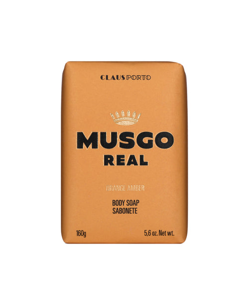 MUSGO REAL MEN'S BODY SOAP ORANGE AMBER 5,6 oz.