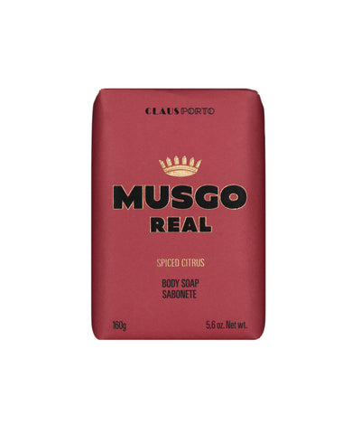 MUSGO REAL'S MEN'S BODY SOAP SPICED CITRUS 5,6 oz.