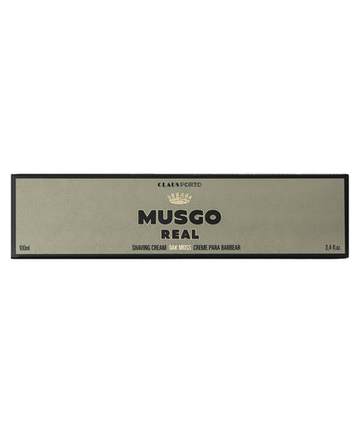 MUSGO REAL SHAVING CREAM OAK MOSS 3,4 fl.oz.