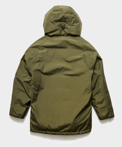 Nanamica Gore-tex Down Coat in Khaki