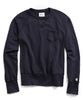 Fleece Pocket Sweatshirt in True Navy Alternate Image