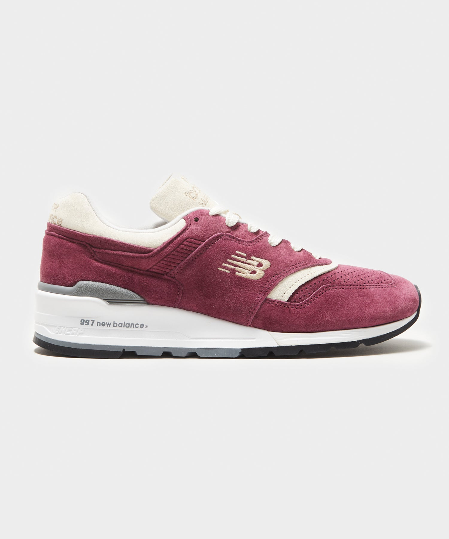 Exclusive Todd Snyder + New Balance 997 Triborough in Burgundy
