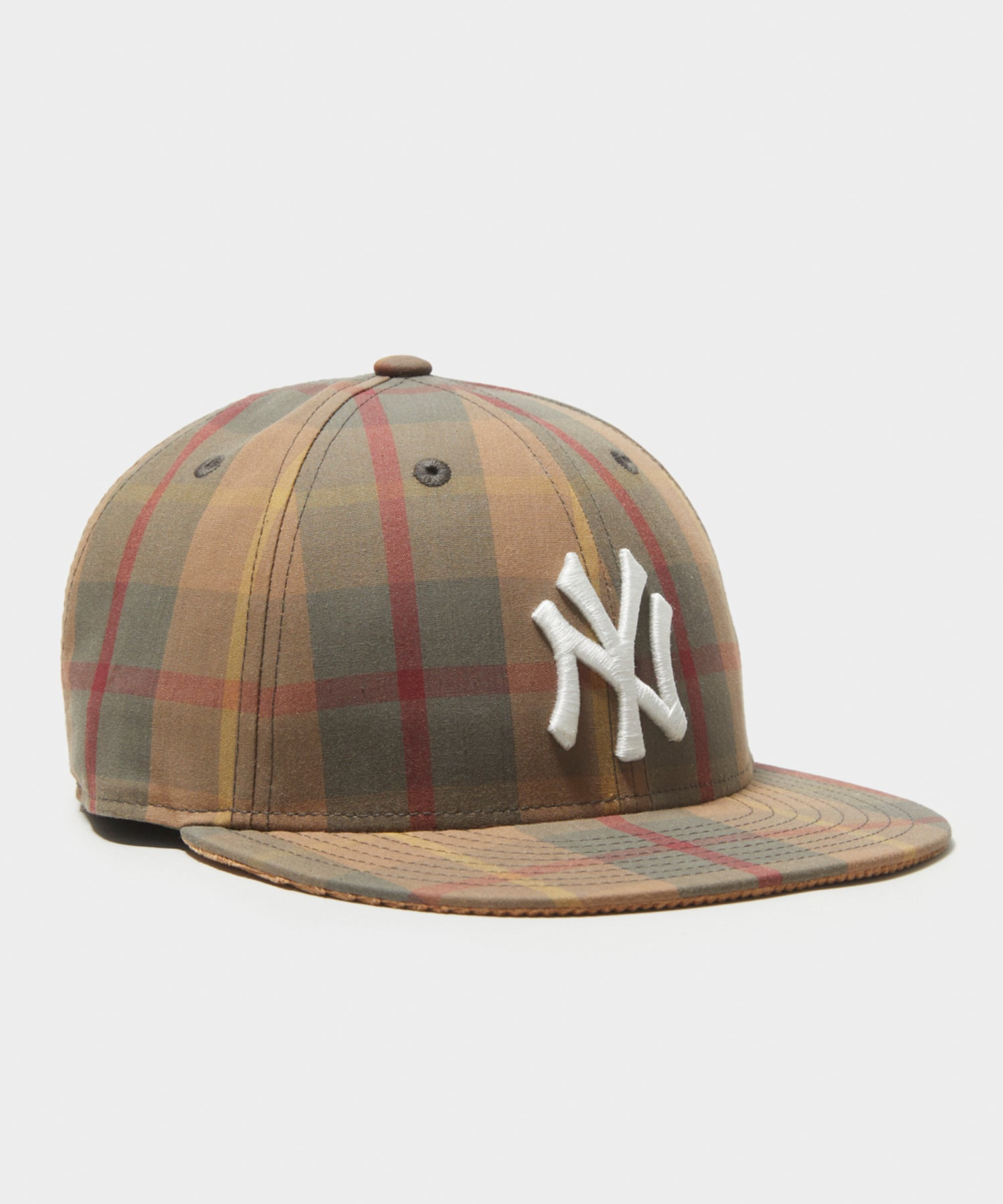 Todd Snyder + New Era 59Fifty Adjustable British Millerain in Tartan Plaid