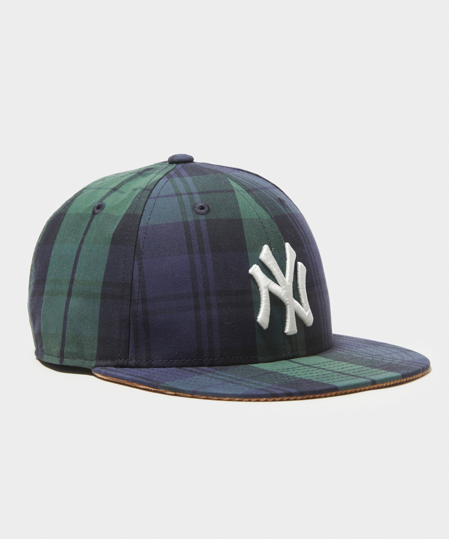 Todd Snyder + New Era 59Fifty Adjustable British Millerain Cap in Blackwatch Plaid