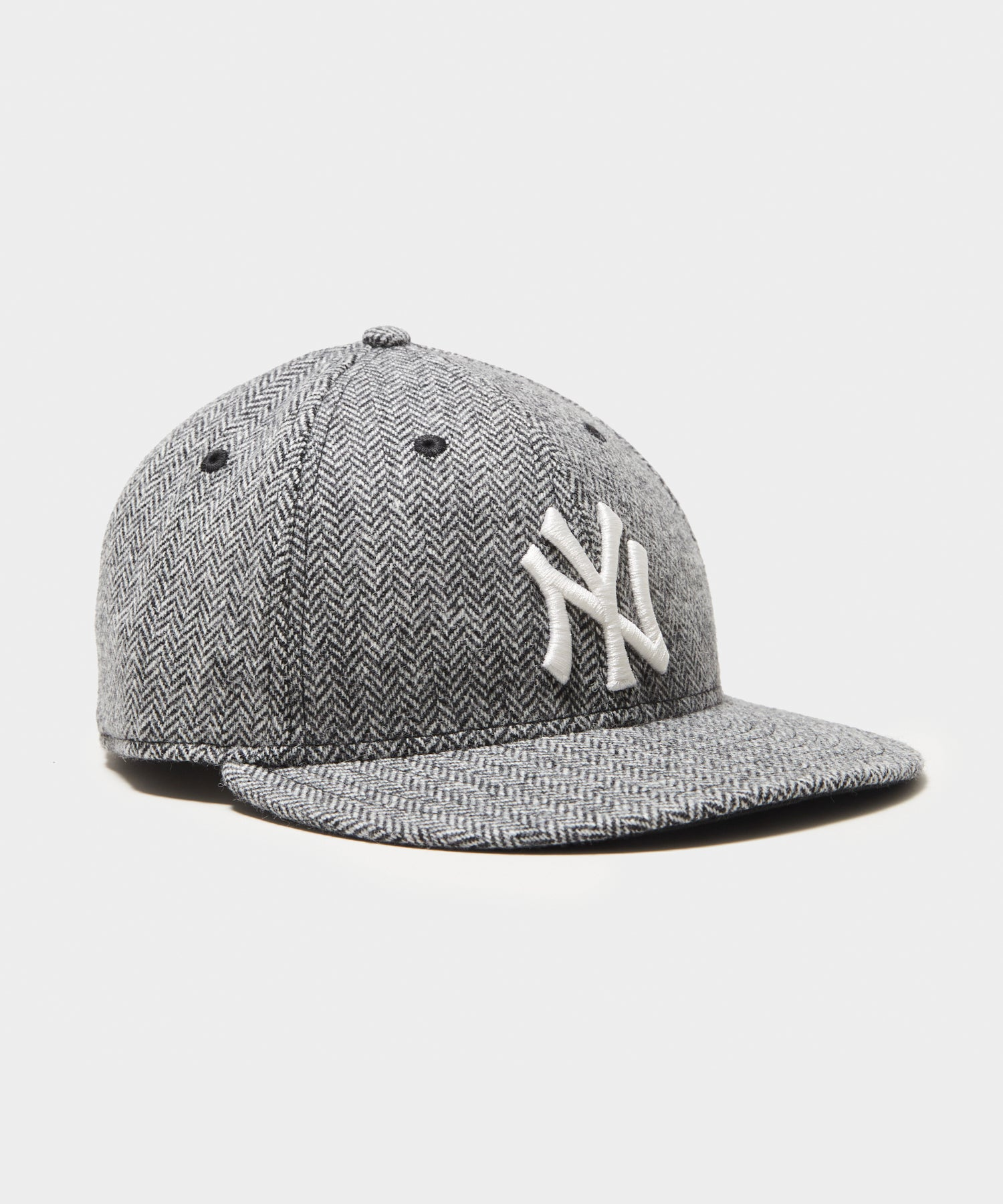 Todd Snyder + New Era NY Yankees Low Profile Cap in Wool Herringbone