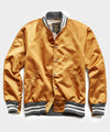 Todd Snyder + Golden Bear Japanese Nylon Bomber Jacket in Gold