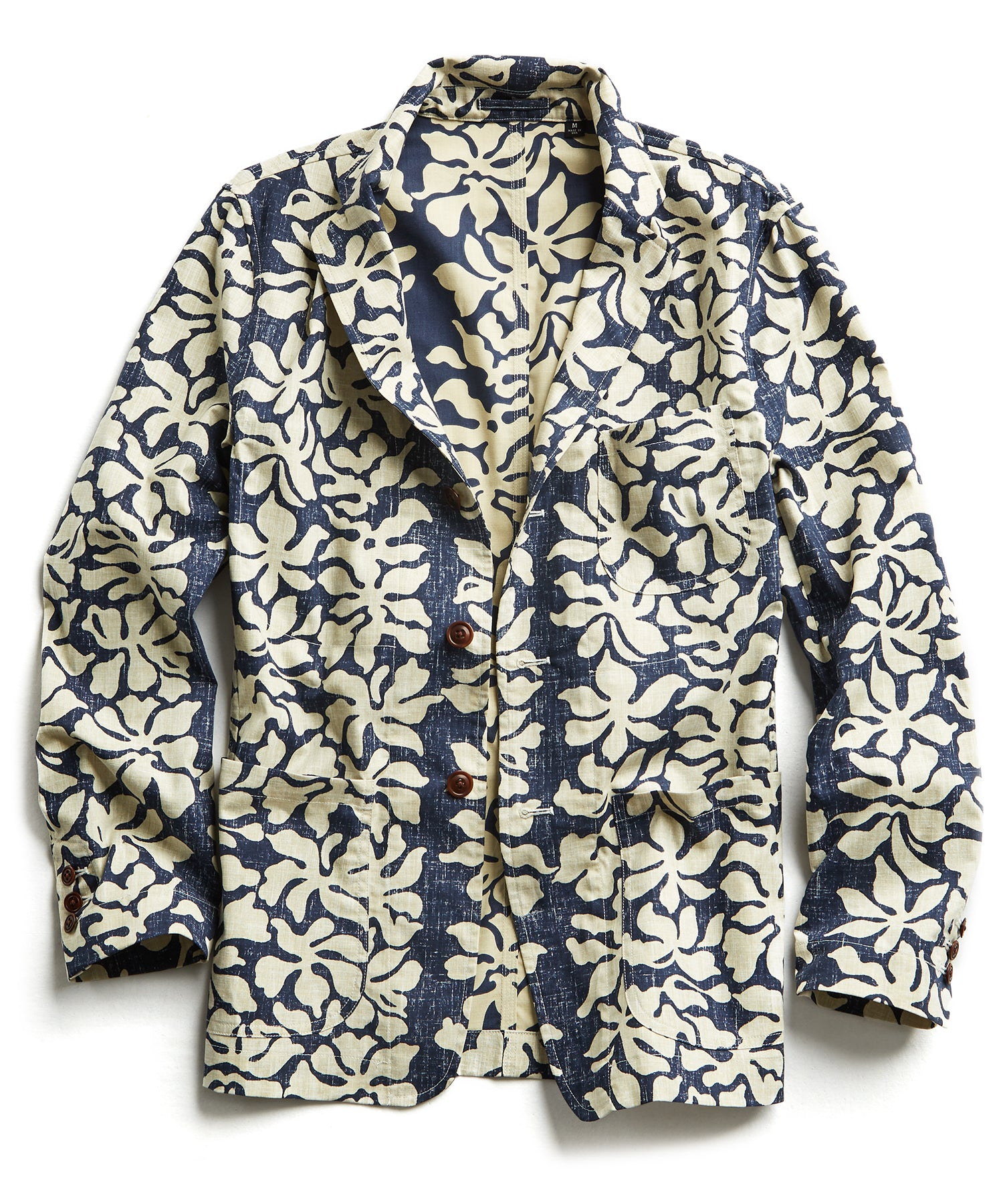 Exclusive Reyn Spooner Unconstructed Blazer in Blue