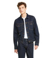 Japanese Stretch Selvedge Denim Jacket in Rinse Wash