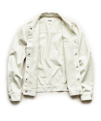 Bedford Cord Jacket in Off White