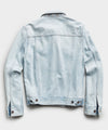 Japanese Denim Jacket in Sun Bleach Wash