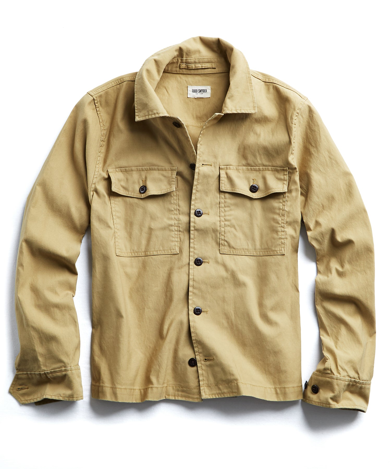 CPO Overshirt Jacket in Khaki