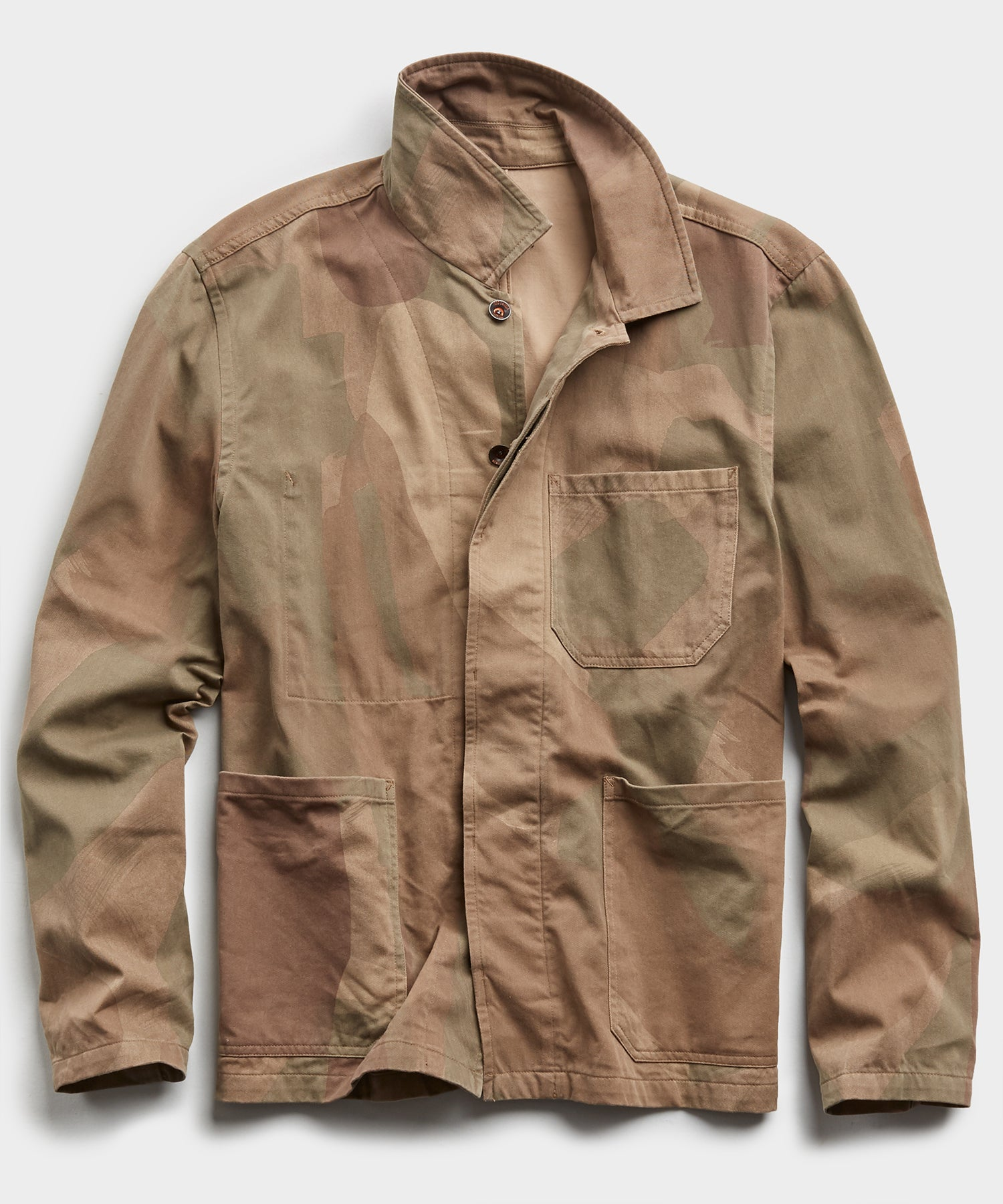Made in New York Brushed Camo Chore Coat