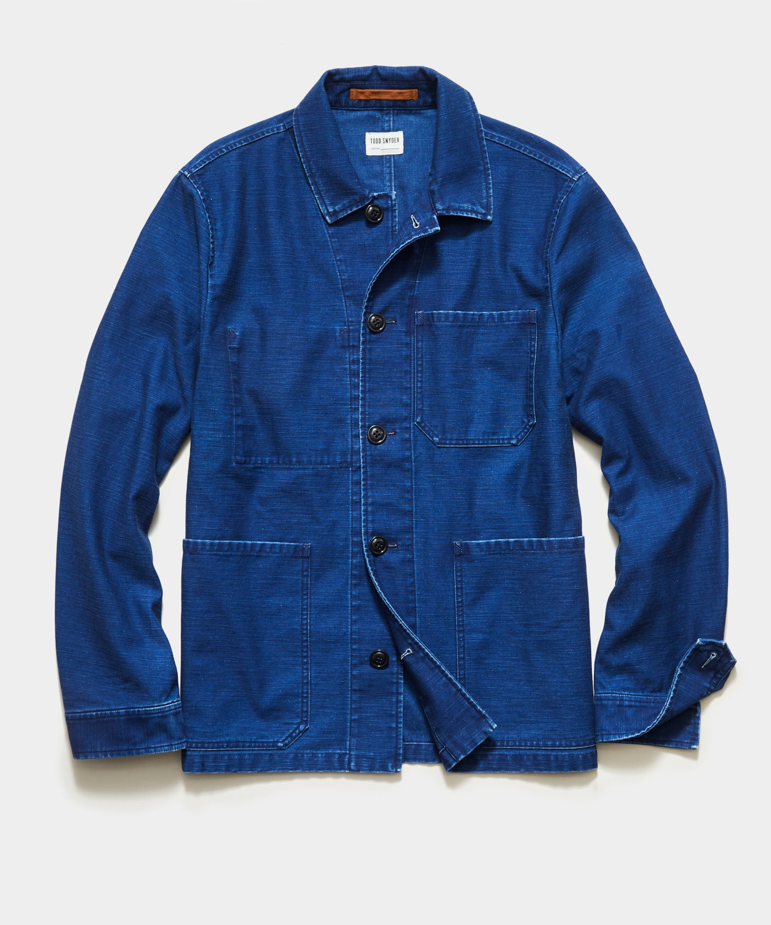 Japanese Chore Coat In Indigo
