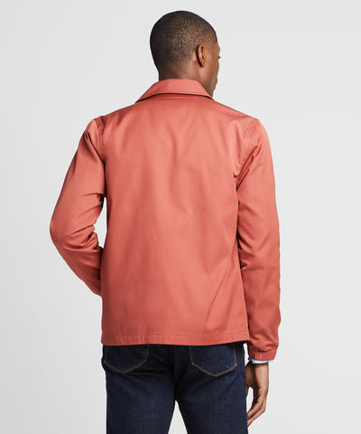 Made in New York Coach's Jacket in Rose