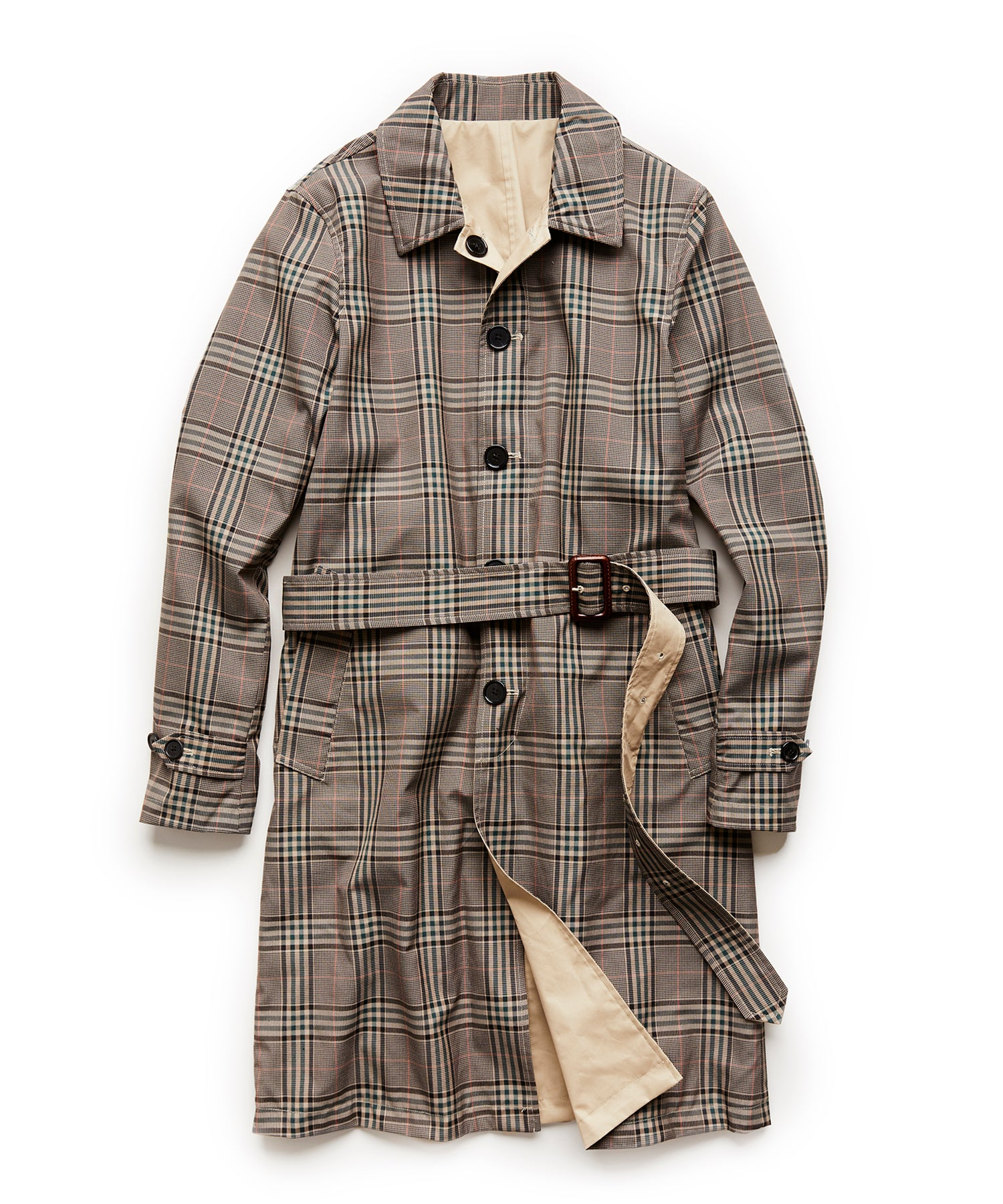Made in New York Reversible Mac Trench in Brown