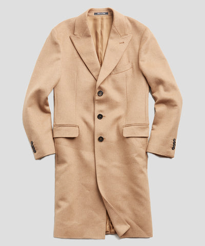 Italian Camel Hair Topcoat
