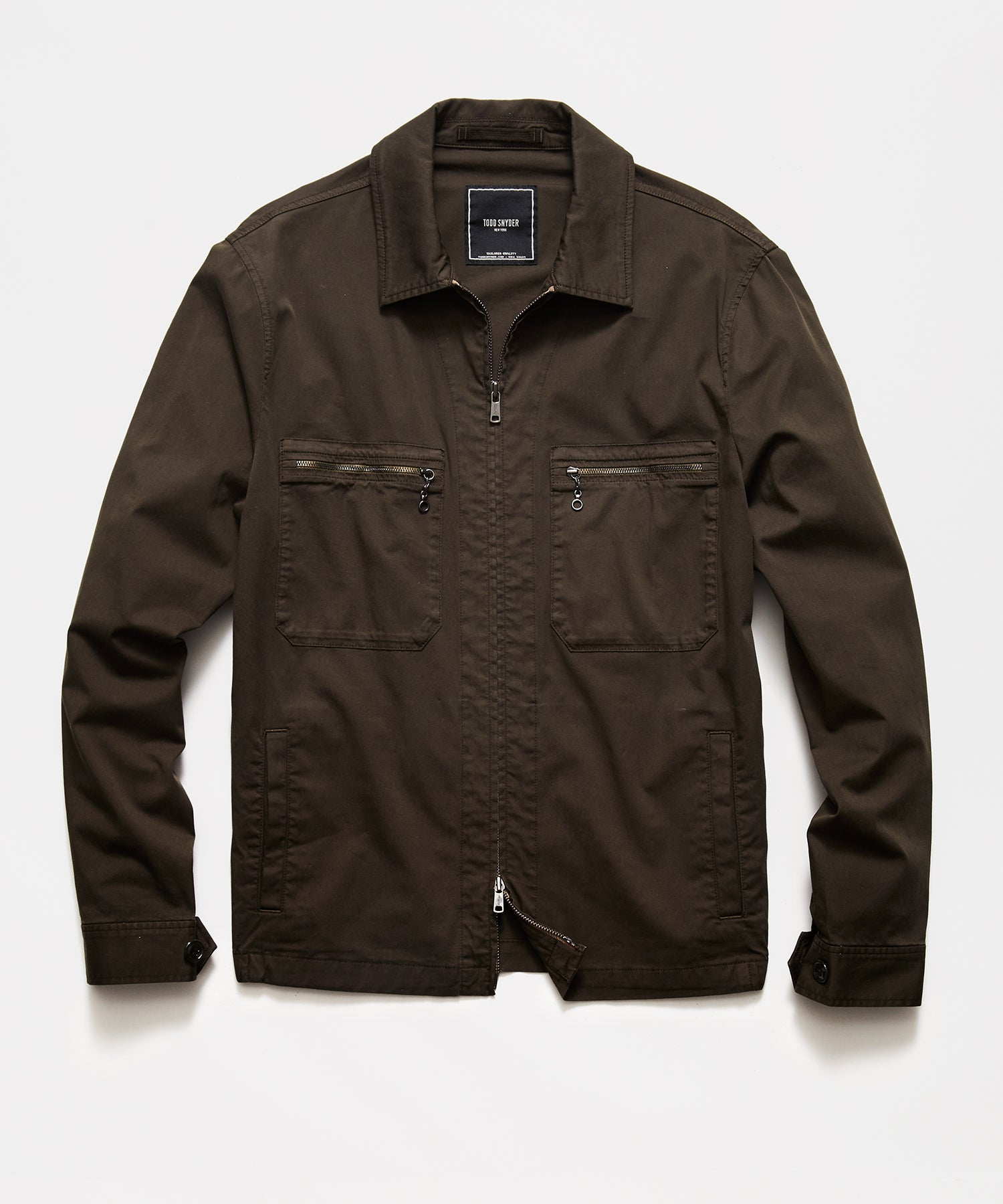 Italian Mechanic Jacket in Olive