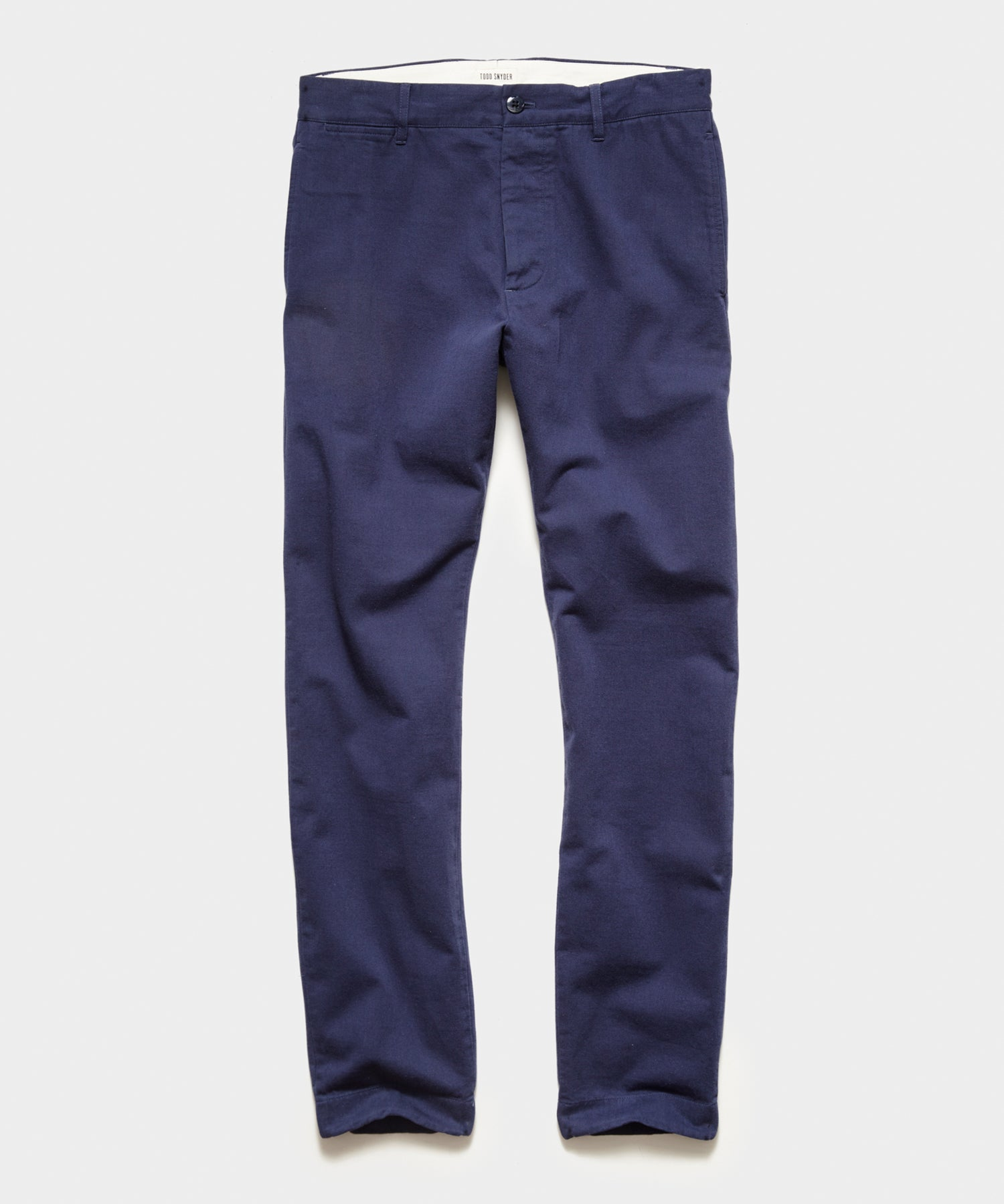 Japanese Selvedge Chino in Navy