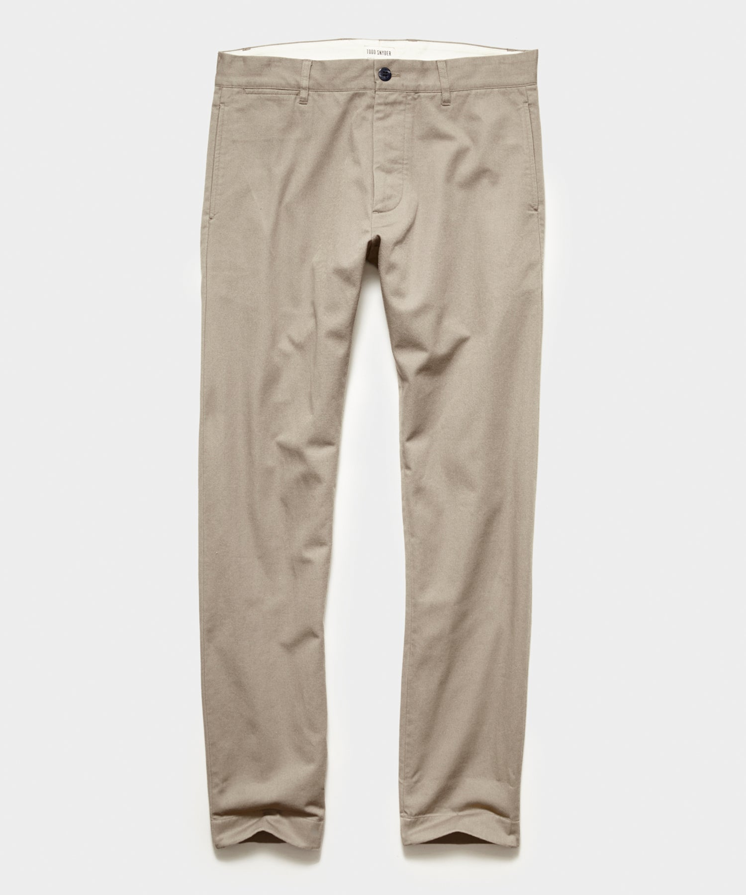 Japanese Selvedge Chino in Khaki