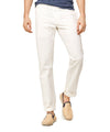 Todd Snyder Japanese Selvedge Chino Officer Pant in White