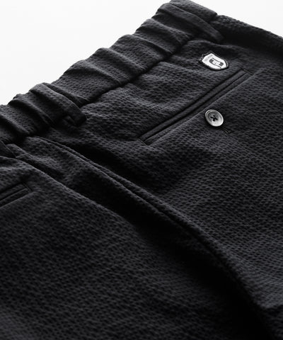 Footjoy x Todd Snyder Seersucker Traveler Short in Black