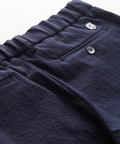 Footjoy x Todd Snyder Seersucker Camp Jogger in Navy