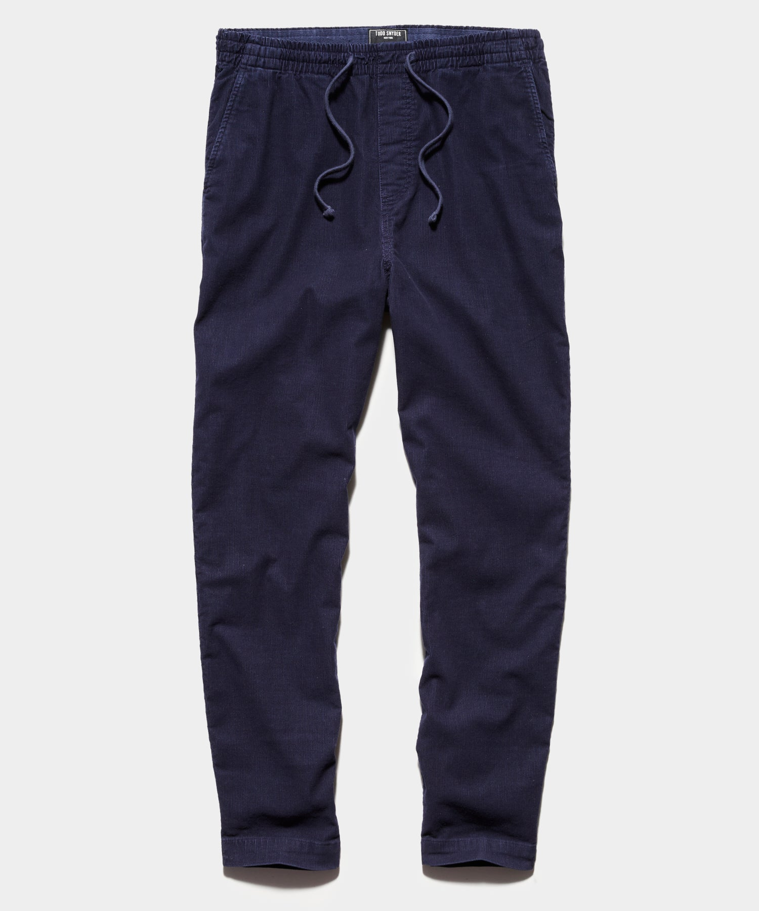 STRETCH CORDUROY WEEKEND PANT IN NAVY