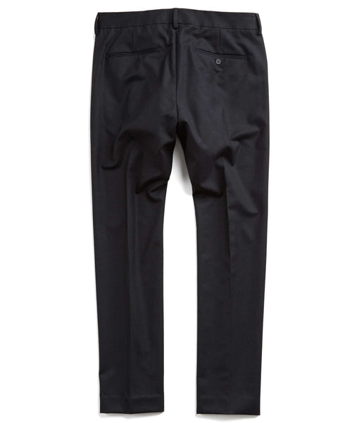 Hudson Tab Front Chino Pant in Black