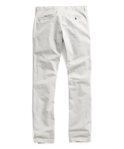 Extra Slim Fit Tab Front Stretch Chino in Stone