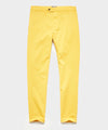 Slim Fit Tab Front Stretch Chino in Ocra