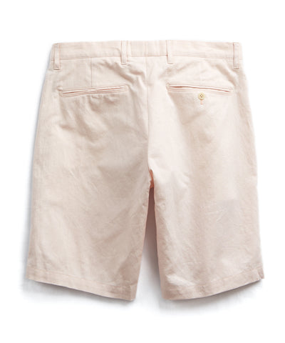 Made in New York Pink Oxford Hudson Tab Short