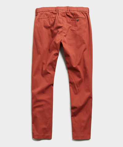The Pleated Pant in Rust