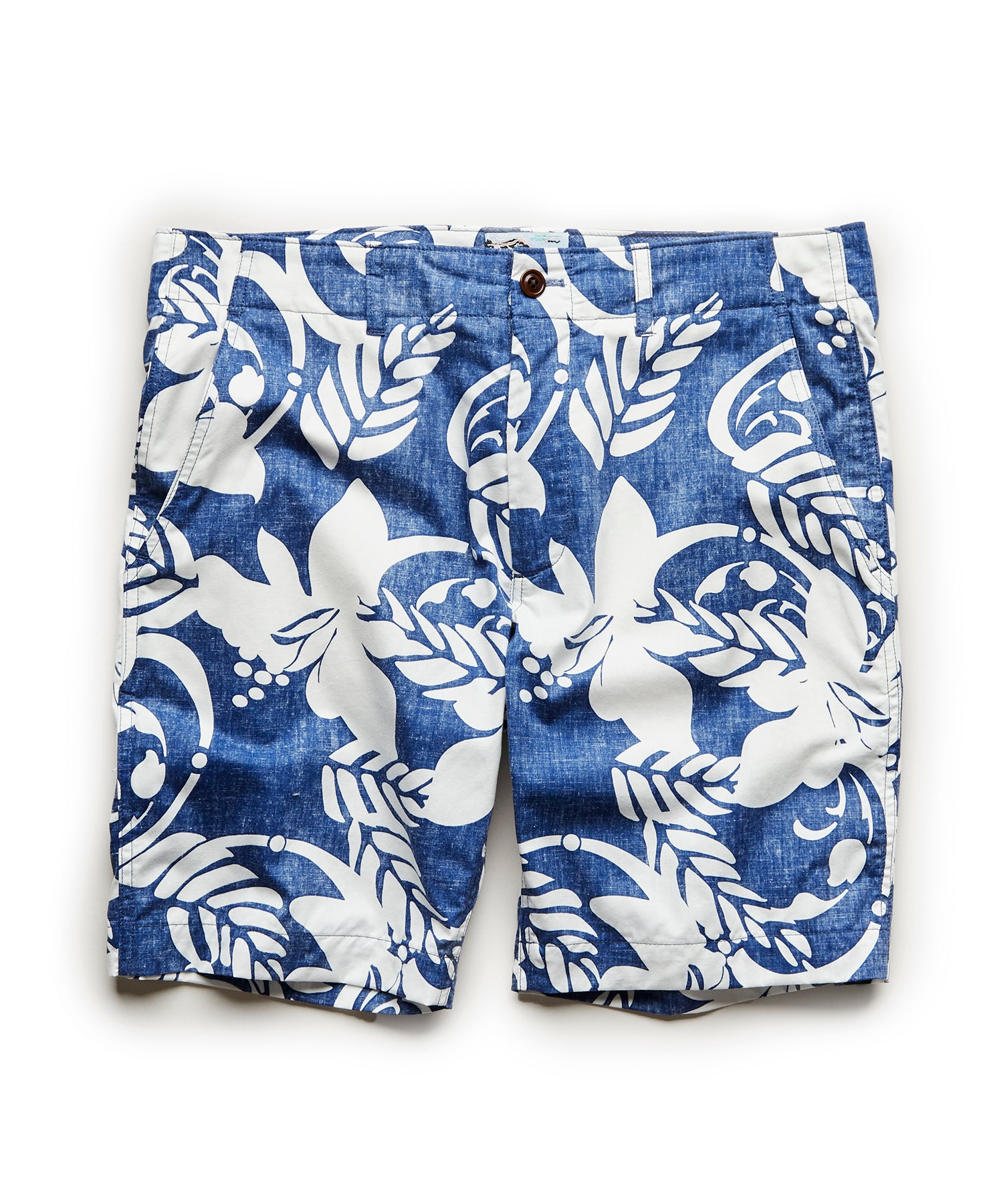 Exclusive Reyn Spooner Surplus Shorts in Blue Floral