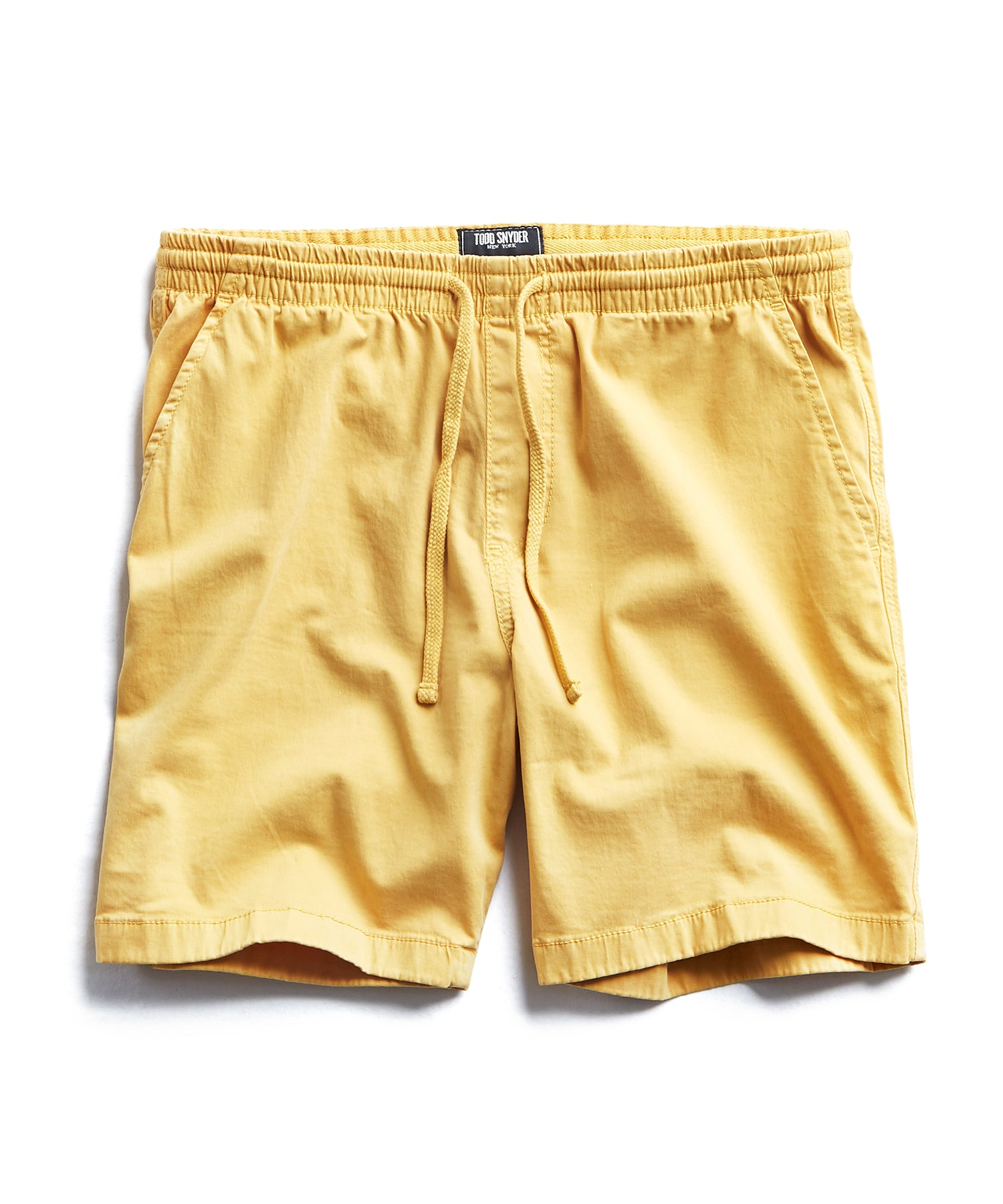 "7"" Weekend Stretch Short in Mustard"