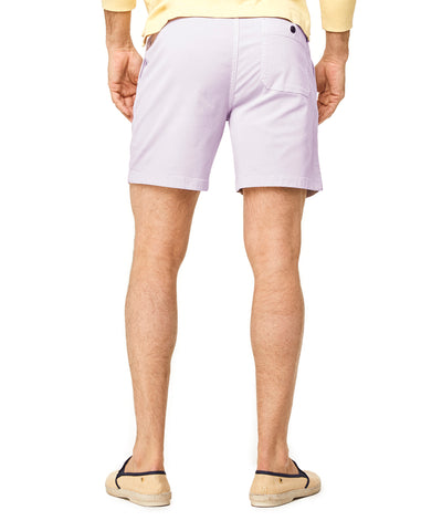 "7"" Weekend Stretch Short in Lavender"