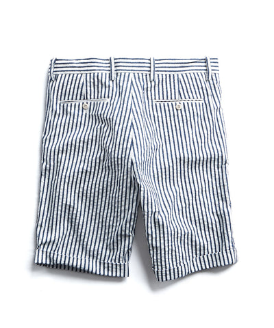 Made in New York Boucle Stripe Pleated Short