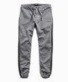 Cotton Side Stripe Jogger in Grey