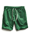 Satin Weekender Short in Green