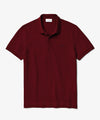 Lacoste Regular Fit Stretch Cotton Paris Polo in Burgundy
