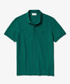 Lacoste Short Sleeve Regular Fit Stretch Cotton Paris Polo in Green