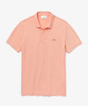Lacoste Short Sleeve Regular Fit Stretch Cotton Paris Polo in Pink